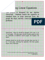 projectgraphinglinearequations