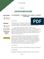 LE PARADOXISME, LA DERNIERE AVANT-GARDE DU DEUXIEME MILLENAIRE