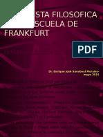LA ESCUELA DE FRANKFURT, PROBLEMAS ONTOLOGICOS Y  METAFISICOS, EL SER MEXICANO.pptx