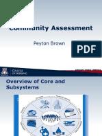 community assessment 35012
