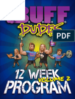 Buff Dudes 12 Week Home and Gym Plan