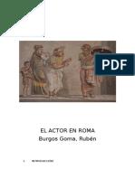 El Actor en Roma