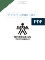 Cuestionario Excel