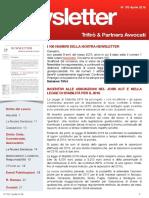 Newsletter T&P N°100