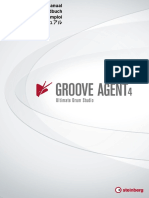 Steinberg Groove Agent 4 Operation Manual