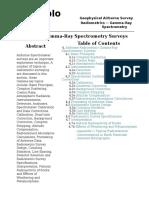 Airborne Gamma-Ray Spectrometry Surveys