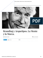 INSIGHT Branding y Arquetipos. La Mente y La Marca