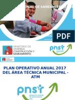 3 y 4. Plan Operativo Anual POA 2017 ATM