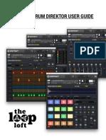 The Loop Loft Drum Direktor User Manual KONTAKT PLAYER