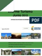 Informe Turismo Junio 2015