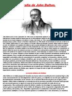 Biografía de John Dalton
