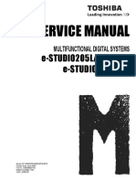 Toshiba ES455 Service Manual