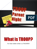 troop parent night