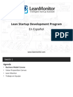 Lección 1 Lean StartUp Español Spanish