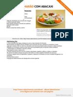 Salada de Camarao Com Abacaxi SaborIntenso