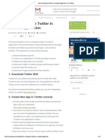 How to Integrate Twitter in Android Application _ Java Techig
