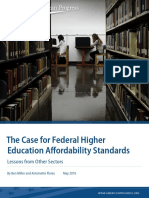 The Case for Federal Higher Education Affordability Standards