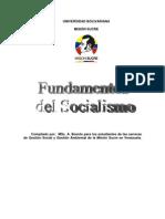Fundamentos Del Socialismo