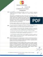 Acuerdo Ministrial 2490 Métodos Anticonceptivos