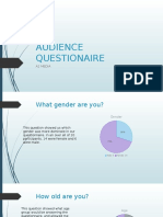 Audience Researchquestionaire