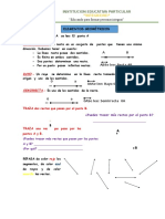 Ficha de trabajo para primaria Geometria