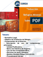 INDUCCION REFUGIOS MINEROS