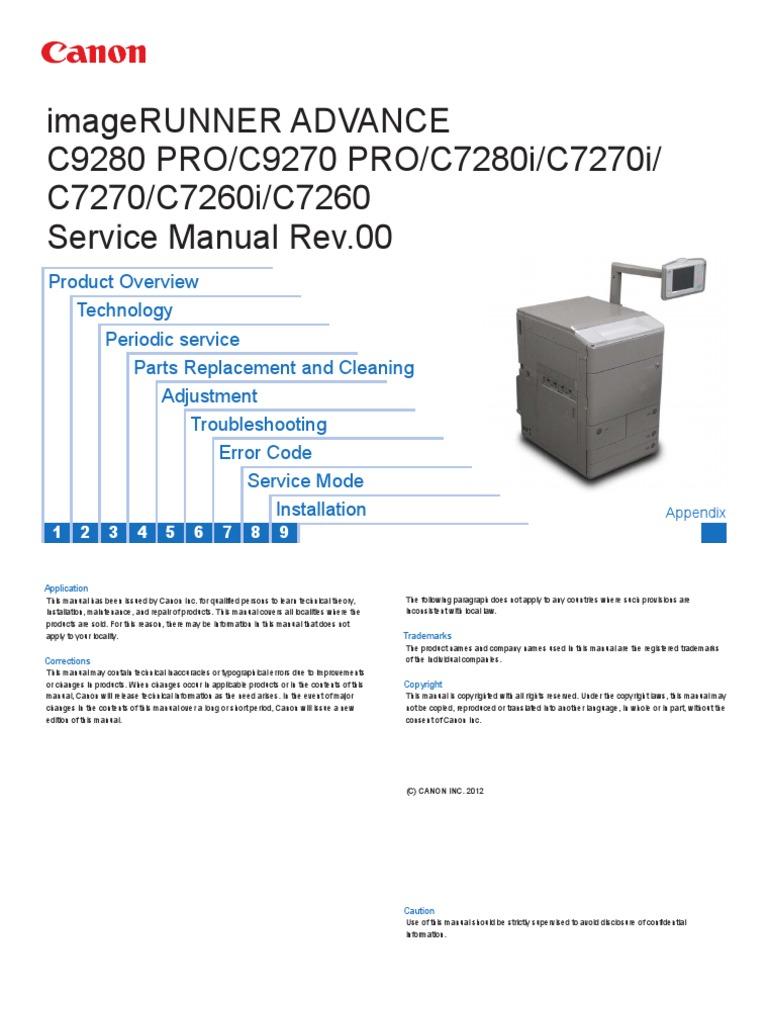ir adv c9200 c7200 series servicemanual en rh scribd com Xerox 5030 WorkCentre Hard Dive Location Service Manual Xerox WorkCentre 5030
