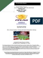 May PFLAG Buffalo/Niagara Newsletter