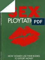 Sex-Ploytation - How Women Use Their Bodies to Extort Money From Men by Matthew Fitzgerald
