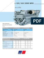 MTU 12V-16V-2000M90 Brochure Specification