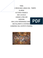 1511 Victoria Fonseca El Siglo XIX Mexico Linea Del Tiempo