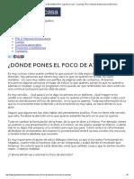 ¿DÓNDE PONES EL FOCO de ATENCIÓN_ _ Jugando en Casa - Coaching, PNL e Hipnosis Ericksoniana en Barcelona