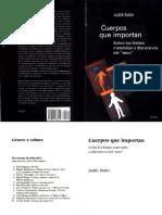 Cuerpos que importan -  Judith Butler.pdf