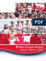 Rowing Canada annual report 2015