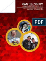 Own the Podium Annual Report 2015