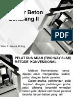 Struktur Beton Bertulang II Part3
