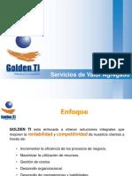 Golden TI - Portafolio de Servicios de Tecnologías de Información