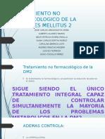 Tratamiento No Farmacologico de La Diabetes Mellitus 2
