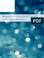 Market Intelligence Report Malaysia - University Tourism
