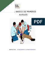 Manual Curso Primeros Auxilios Basicos