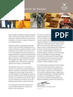 Xstrata Copper - Politica Gestión Riesgo