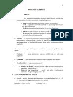 Material Estatística