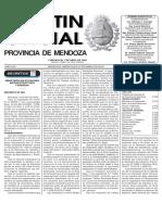 Boletín Oficial por venta de alimentos vencidos Mendoza