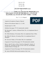 Wisconsin v. Illinois, 281 U.S. 179 (1930)