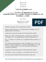 State of Florida v. United States Brooks-Scanlon Corporation v. Same. Wilson Lumber Co. Of Florida v. Same, 282 U.S. 194 (1931)