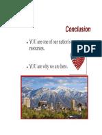 present conclusion