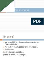Analyse Litt Les Genres