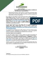 [NP] Fiscal presenta documento que probaría posible compra de testigo en el caso Bustíos
