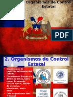 Órganos de Control Estatal