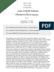 Ladner v. United States, 358 U.S. 169 (1958)